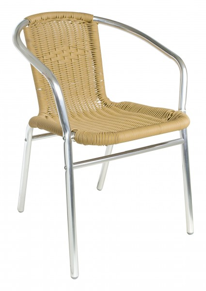 Outdoor-Stuhl KIR natur - stapelbar