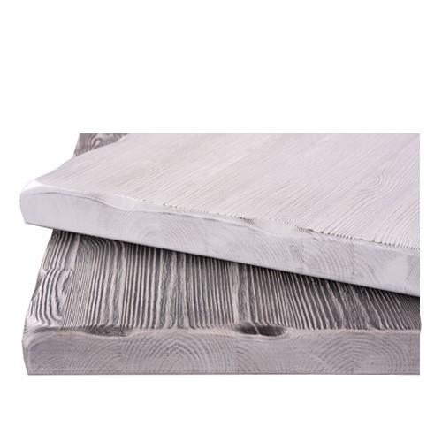Tischplatte Kiefer Massivholz Shabby-Look