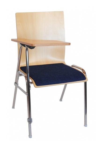 Seminarstuhl Konferenzstuhl mit Schreibplatte COMBISIT SEMINAR SP