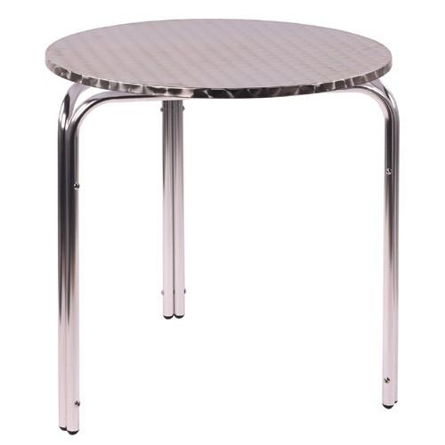 Outdoor-Tisch IRENA D70 - Aluminium