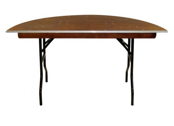 Bankett-Tisch MHR halbrund, klappbar