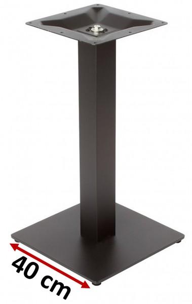 Gastronomie Tischgestell NIZZA 40 in schwarz