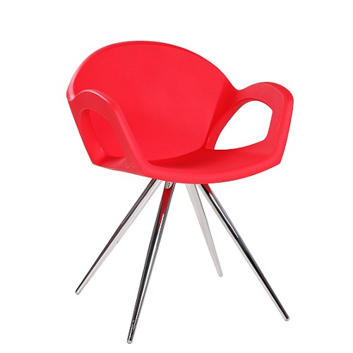 Designer-Sessel PEPPER SPIDER in rot