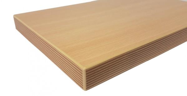 Tischplatte Multiplexkante - 25 mm stark