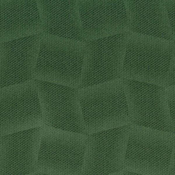 Mikrofaser-Stoff mit attraktiven geometrischen Mustern moosgrün