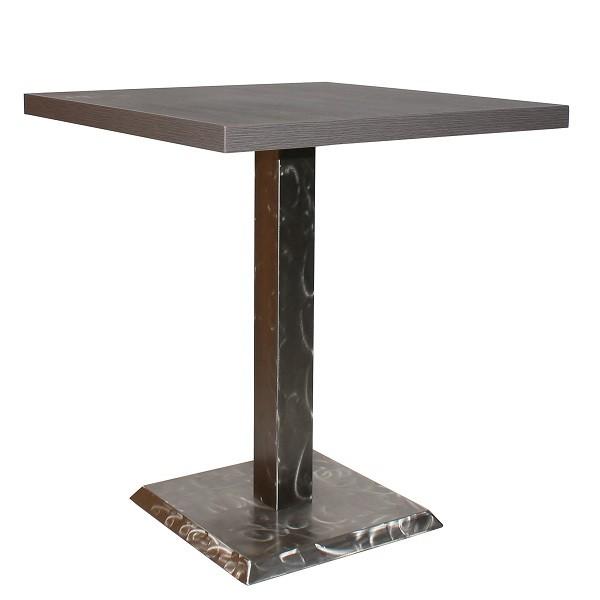stabiler Gastronomie Tisch ROVETO IX S für Bistros, Cafes, Eisdielen und Restaurants.