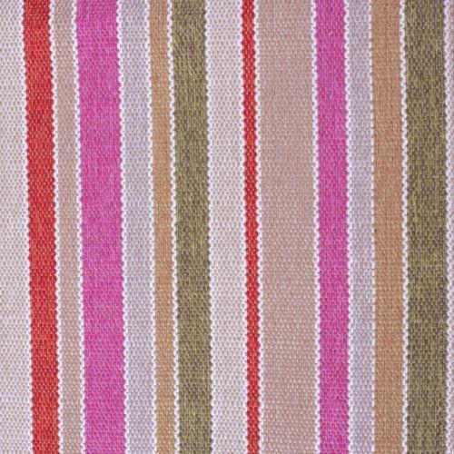 Stoff mit Blockstreifen SBI24 pink-braun