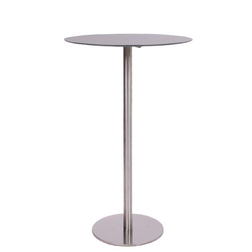 HPL-Kompakt-Tischplatte 10 mm, ø 59 cm schwarz