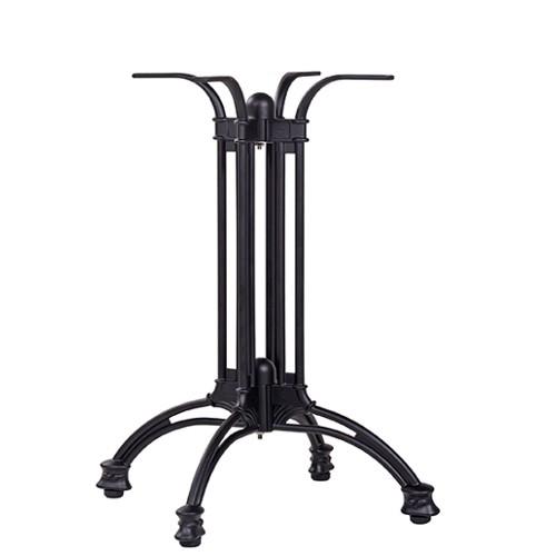Bistrotischgestell Tischgestell Aluguss LUGANO Jugendstil