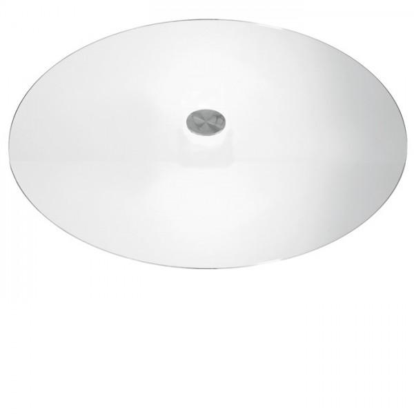 Tischplatte Klarglas Ø 70 cm
