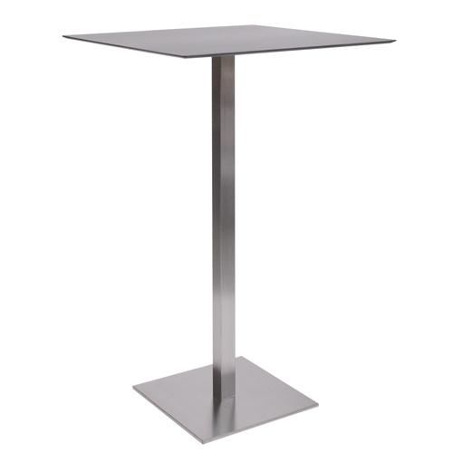 HPL-Kompakt-Tischplatte 10 mm, 59 x 59 cm schwarz