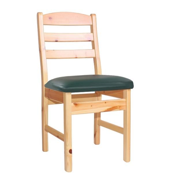 Holzstuhl Gastronomie Stuhl aus Kiefer massiv TORBEN