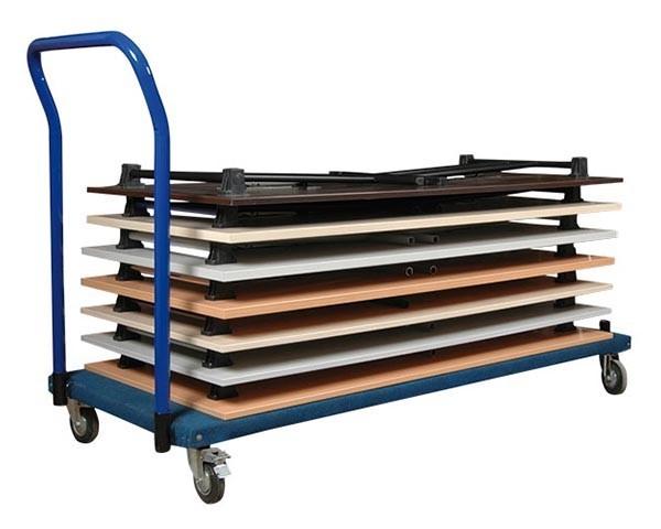Transportwagen KT188 für Klappptische bis 180 cm Länge
