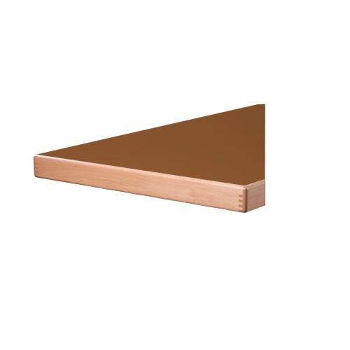 Tischplatte Laminat (HPL) - Aufkantung 65 mm stark