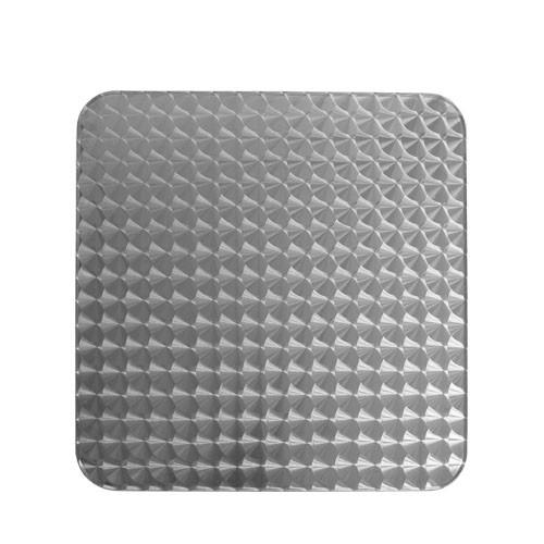 Tischplatte INOX eckig