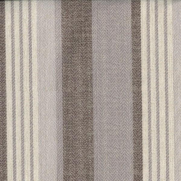 Stoff mit Blockstreifen VED754 anthrazit/grau