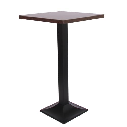 Dekor-Tischplatte MDF 44 mm stark, 70x70 cm wenge