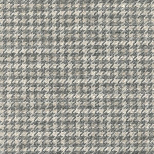 Hahnentritt gemusterte Möbelstoff BRI01 grau-beige