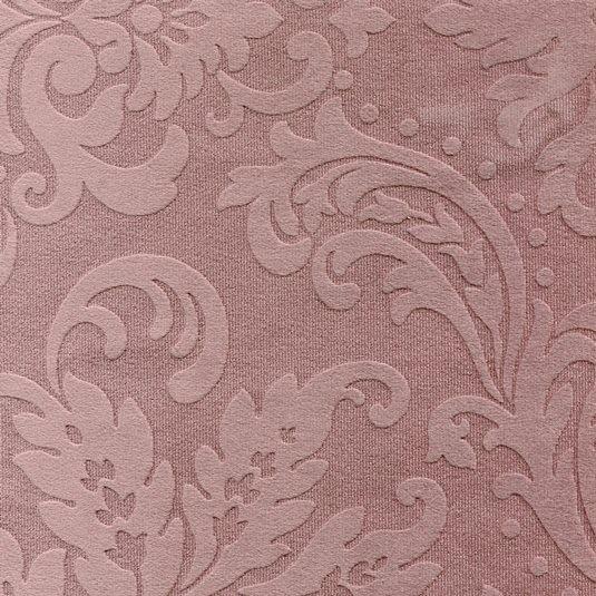 Stoff mit floralen Ornamenten BD13 altrosa