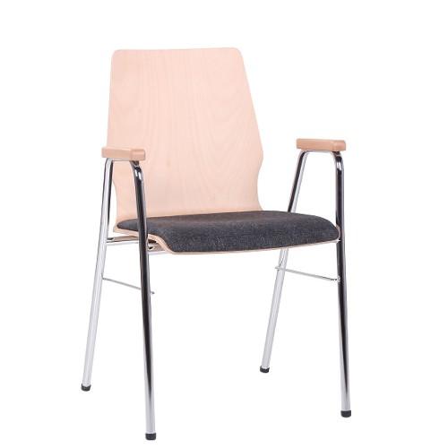 Holzschalenstuhl / Armlehnstuhl ARKO SP