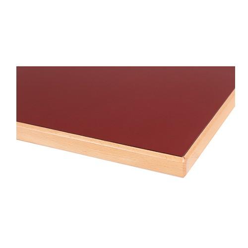 Tischplatte Laminat (HPL) Massivholzkante - 26 mm stark