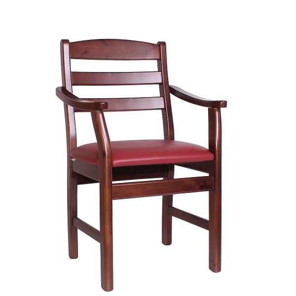 Armlehnstuhl Sessel für den Einsatz. in der Gastronomie oder auch Senioreneinrichtungen