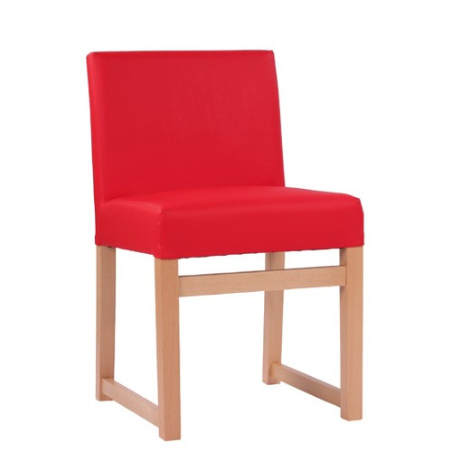 Polsterstuhl mit Kufe passend zur Sitzbank FALCO