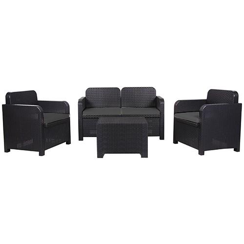 Lounge-Sitzgruppe SORRENTO 4-teilig