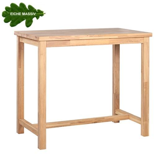 Holz-Stehtisch ARKON 127 aus massiver Eiche