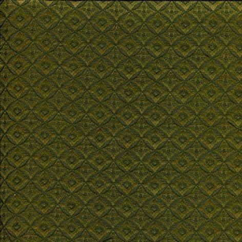 Polsterstoff mit feinem Rauten-Muster SR801-grün