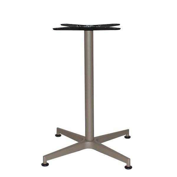 Tischgestell VISION SIDE - klappbar in taupe