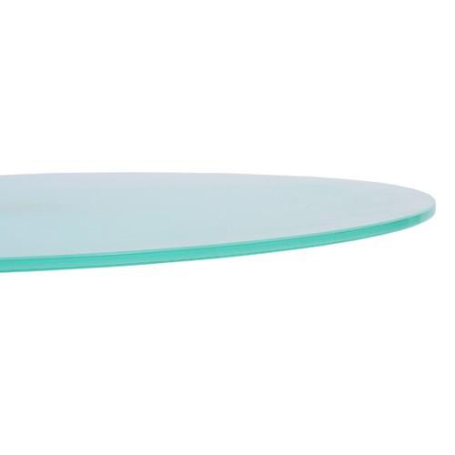 Tischplatte satiniertes Glas 70 cm