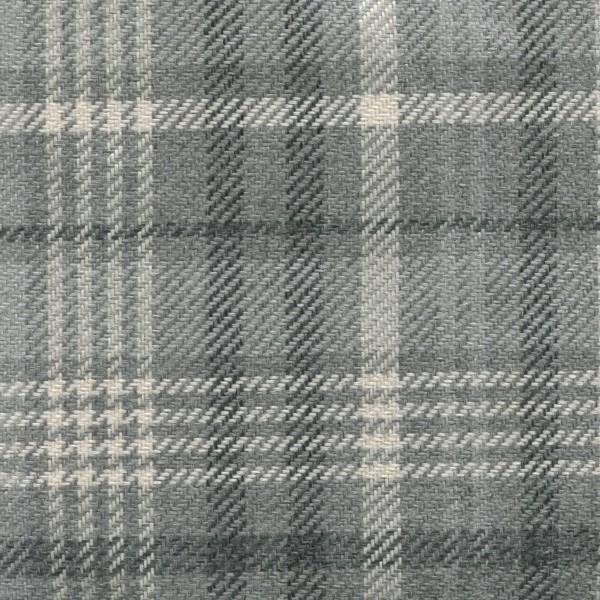 Möbelbezug Karostoff | Polsterstoff mit Karo Muster SCT02 grau-beige