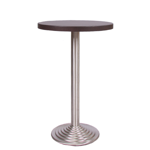 Dekor-Tischplatte MDF 44 mm stark, ø 70 cm wenge