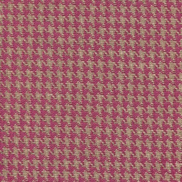 Stoff mit Pepita-Muster PEP53 bordauxviolett