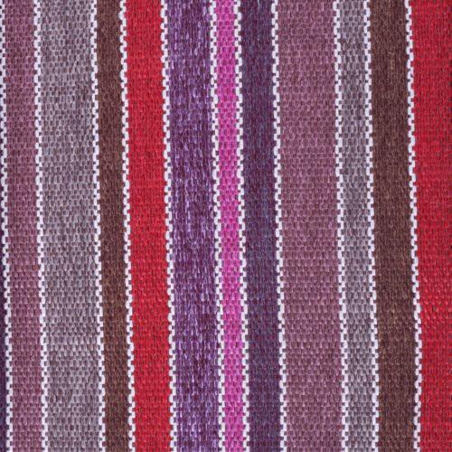 Stoff mit Blockstreifen SBI69 rot-violett