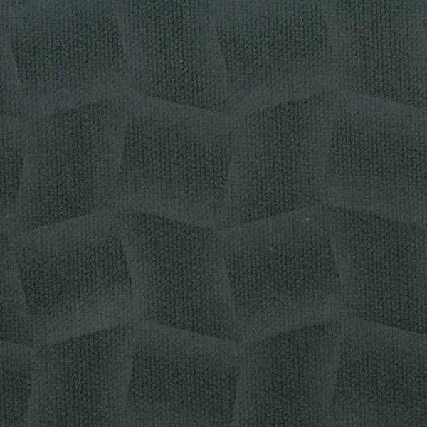 Mikrofaser-Stoff mit attraktiven geometrischen Mustern anthrazit