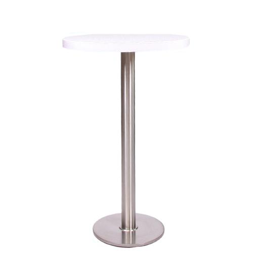 Dekor-Tischplatte MDF 44 mm stark, ø 70 cm weiß