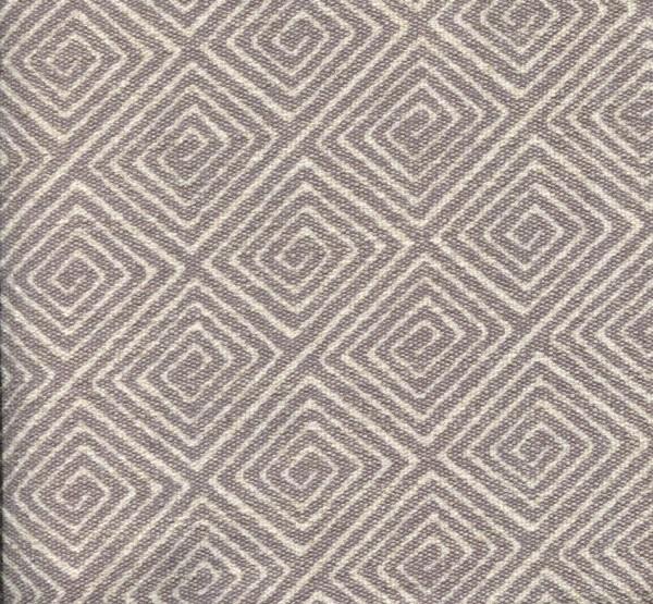 Stoff mit Rauten-Muster SA701 hellgrau
