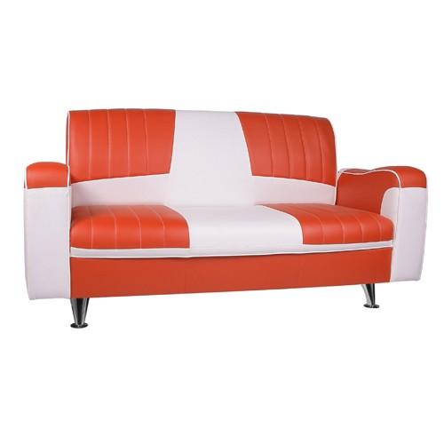Retro 3-Sitzer-Couch ROCKY