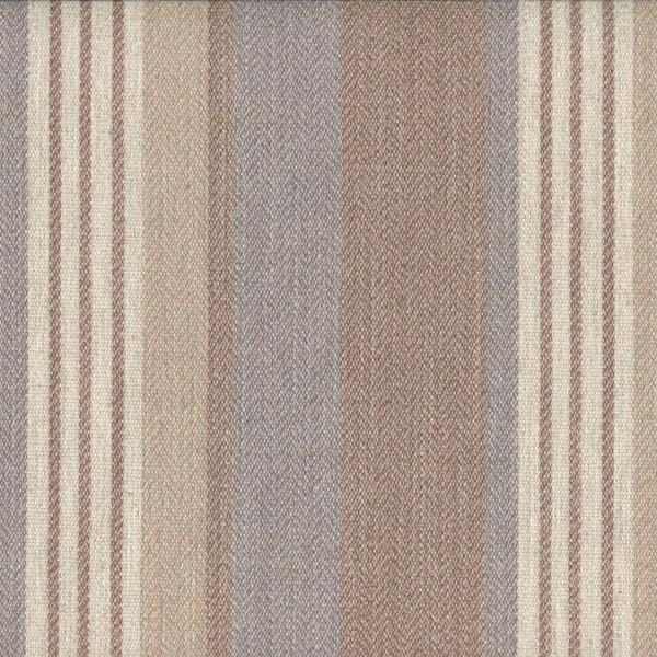 Polsterstoff mit Streifen für Gastronomie-Möbel | VED756 hellbraun-blaugrau