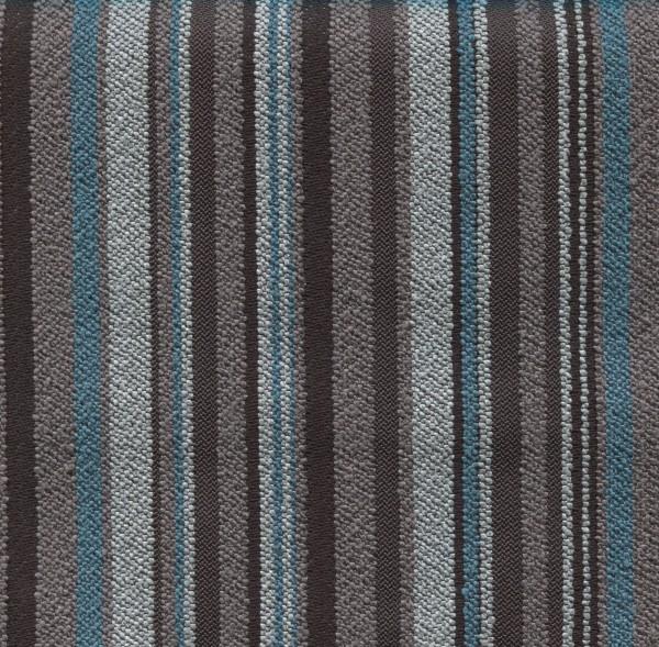 Stoff mit Blockstreifen LUT431 SafeTex türkis-grau-anthrazit