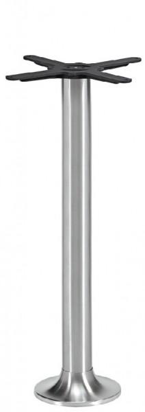 Stehtischgestell NAVEX IX Edelstahl für Bodenmontage