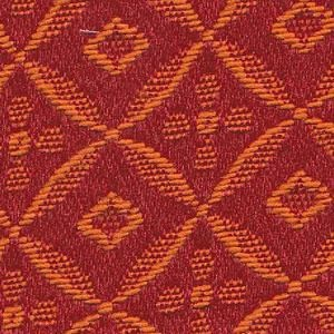 Stoff mit Rauten-Muster SR308 rot