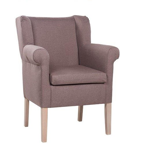 Hotelsessel CLEA in Uni-Stoff 44 taupe