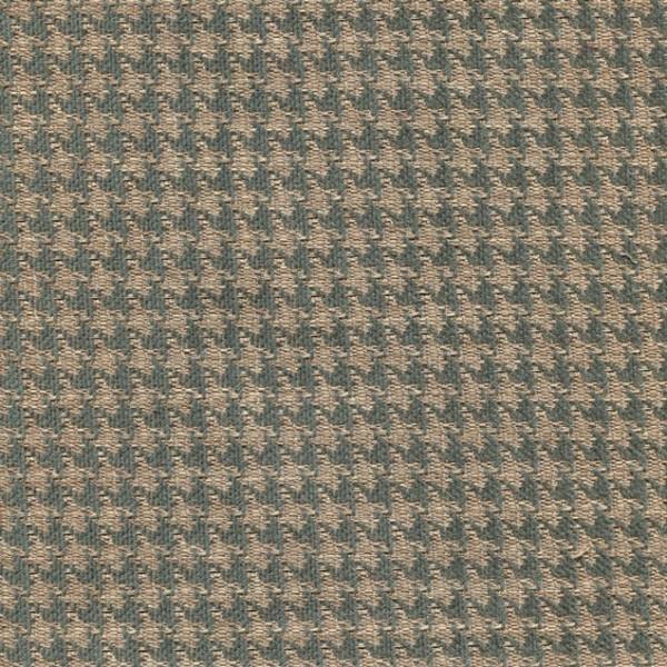 Stoff mit Pepita-Muster PEP38 grün-beige