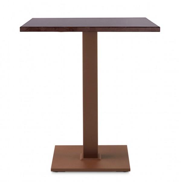Bistrotisch | Gastronomie-Tisch PADUA 40 RF im Industrial Design
