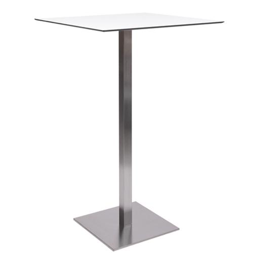 HPL-Kompakt-Tischplatte 10 mm, 59 x 59 cm weiß