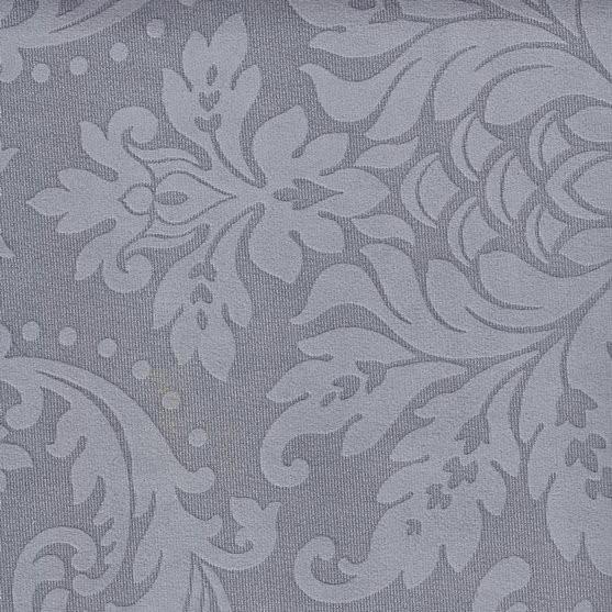 Stoff mit floralen Ornamenten BD26 steingrau
