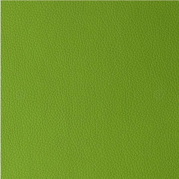Hochwertiges Kunstleder mit Prägung ARI grün